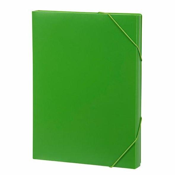 Marbig Document Box A4 Lime X CARTON of 10 2019904