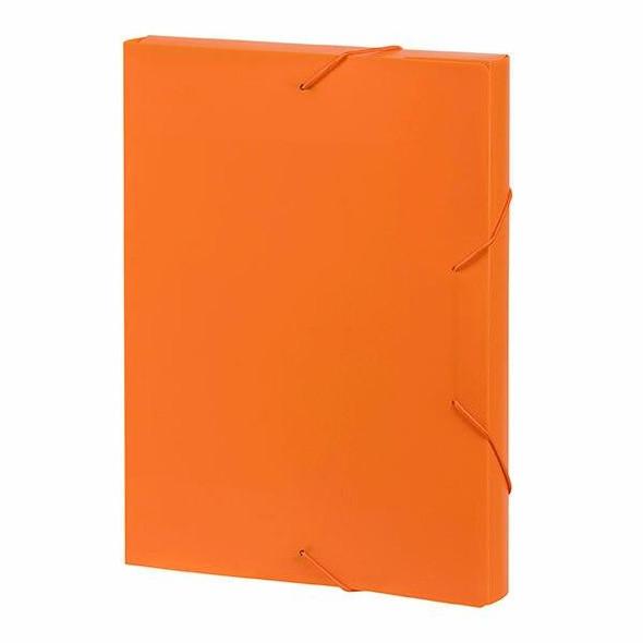 Marbig Document Box A4 Orange X CARTON of 10 2019906