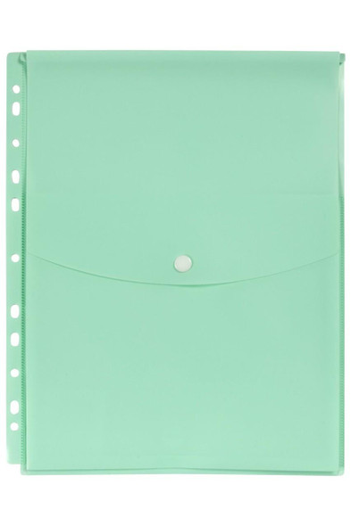 Marbig Binder Wallet A4 Top Open Pastel Green X CARTON of 12 2025892
