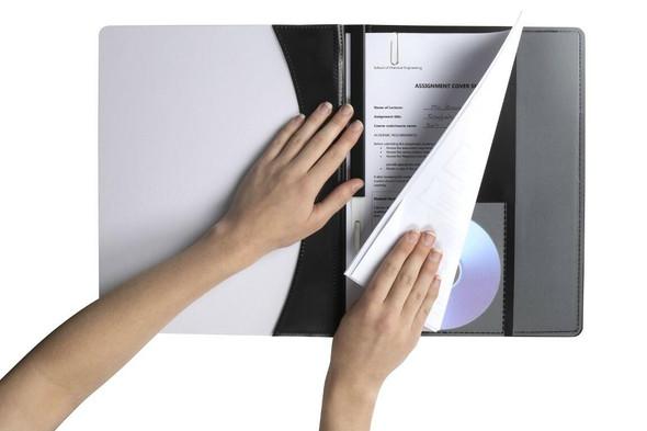 Marbig Flat Files A4 Premier Black X CARTON of 25 2050002