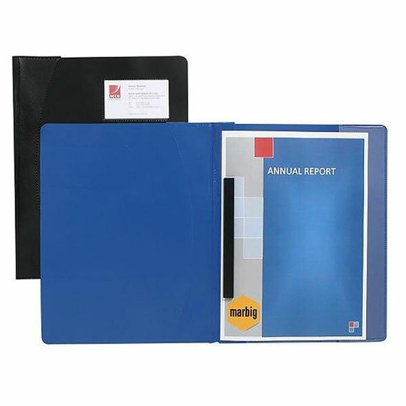 Marbig Premier Management File A4 Black X CARTON of 25 2051002