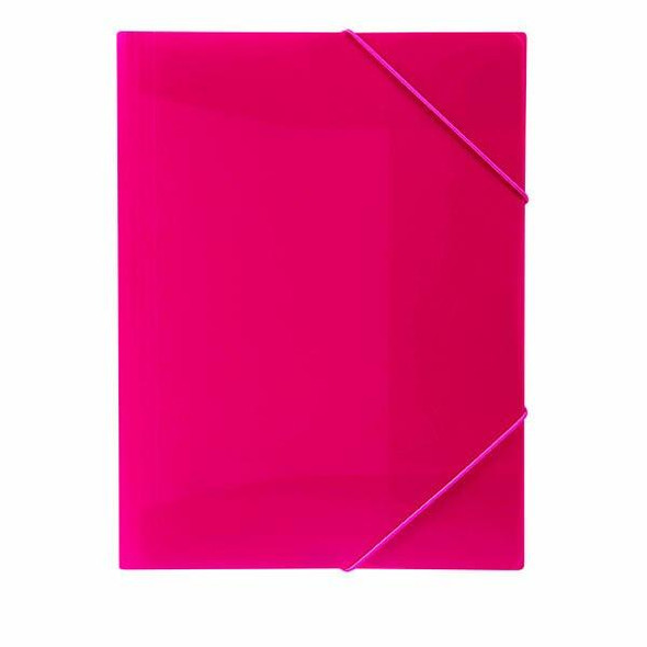 Marbig Document File A4 Pink X CARTON of 12 2095109