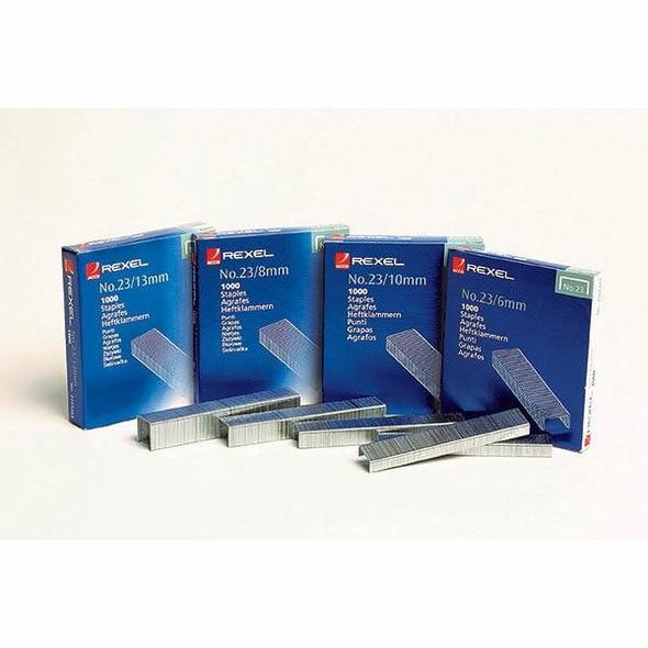 Rexel Staples 23/10mm Box1000 2101212