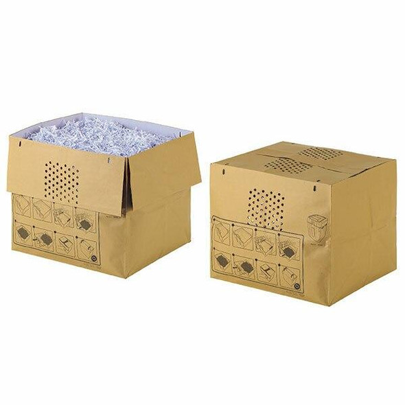 Rexel Shredder Bag Recyclable Auto 80 Litre Pack25 2105902B