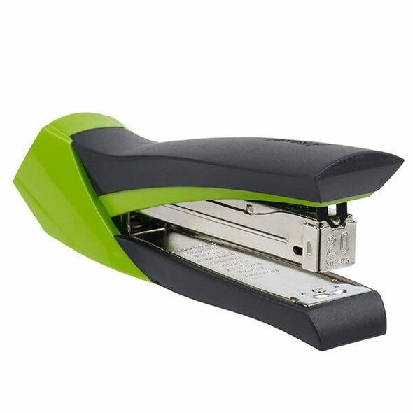 Rexel Stapler Full Strip Smoothgrip Blk/Grn 210822