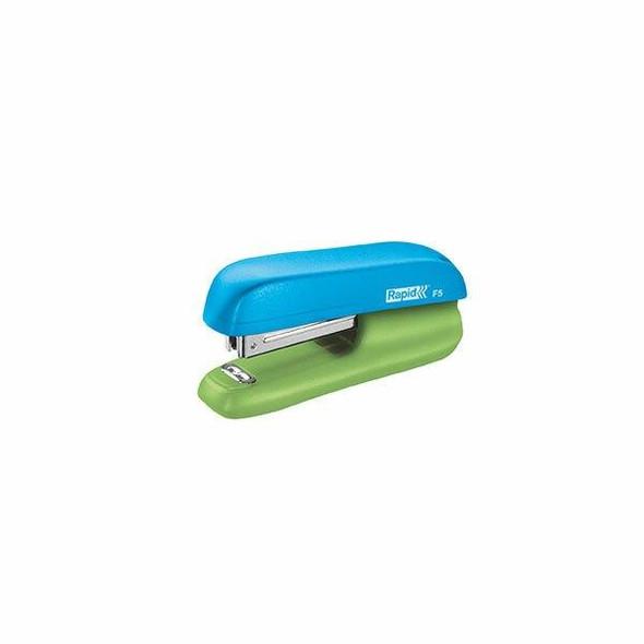 Rapid Stapler Mini F5 Blue/Green 210835