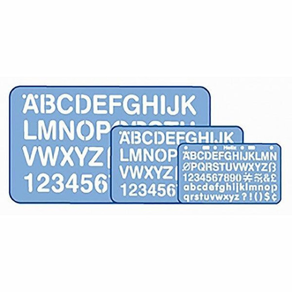 Helix Stencil Set 3pc 2215040