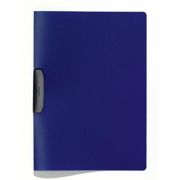 DURABLE Duraswing Document File 30 Sheet Dark Blue 229507