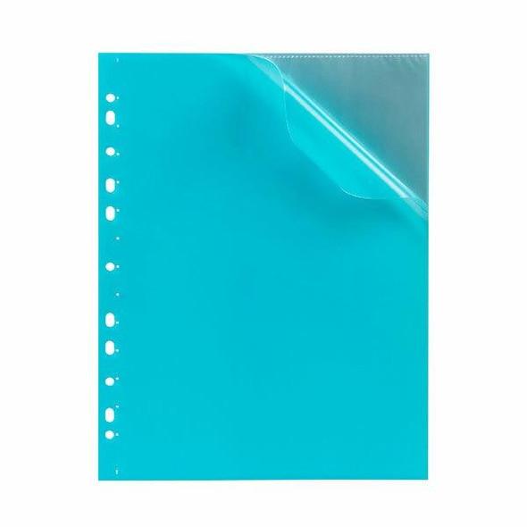 Marbig Soft Touch Binder Display Book A4 10 Pocket Marine X CARTON of 12 2300501
