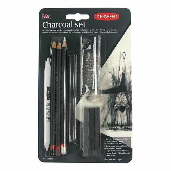 DERWENT Charcoal Set X CARTON of 6 2300675