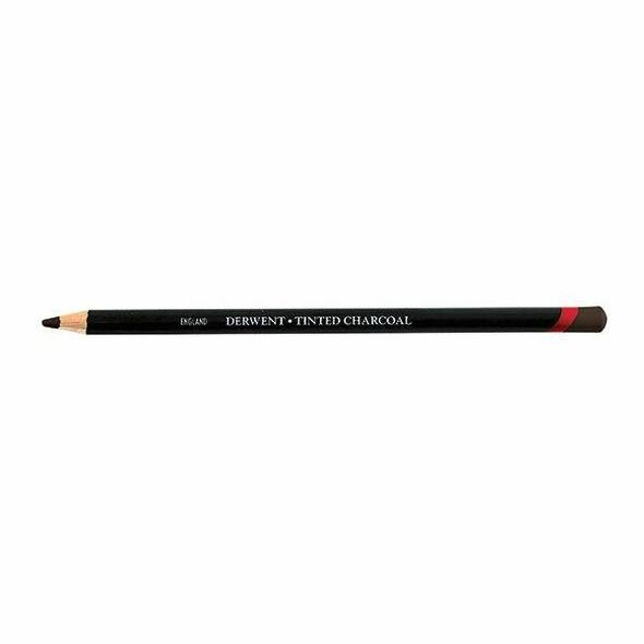 DERWENT Tinted Charcoal Pencil Peat Tc18 X CARTON of 6 2301682