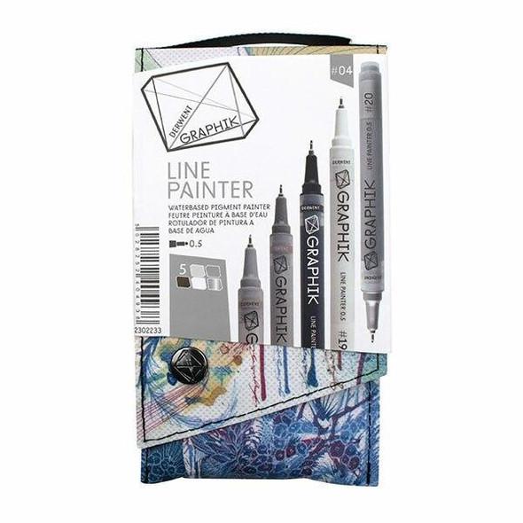 DERWENT Graphik Line Painter Palette 4 X CARTON of 5 2302233