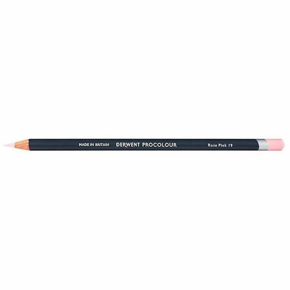 DERWENT Procolour Pencil Rose Pink 19 X CARTON of 6 2302451