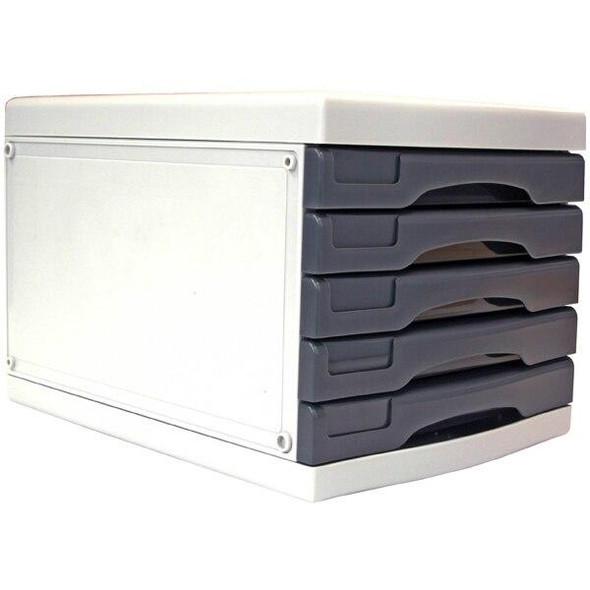 Metro 3475 Desktop Filing Drawers A4 5d Grey 234755
