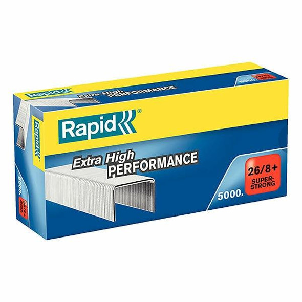 Rapid Staples 26/8mm Box5000 S/Strong 24862200