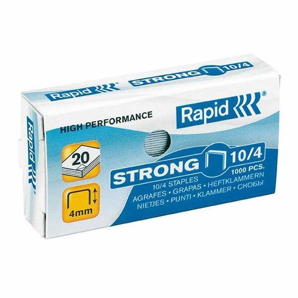 Rapid Staples No.10 Box1000 X CARTON of 20 24862900