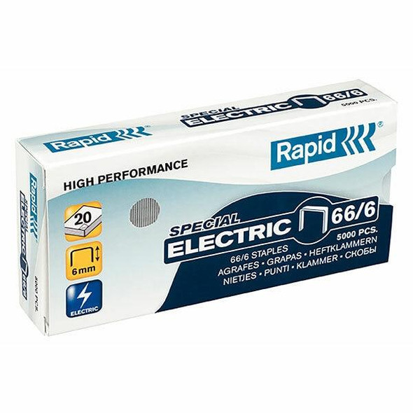 Rapid Staples 66/6mm Box5000 Strong 24867800