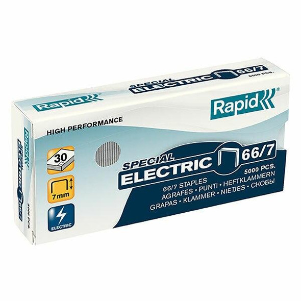 Rapid Staples 66/7mm Box5000 Strong 24867900