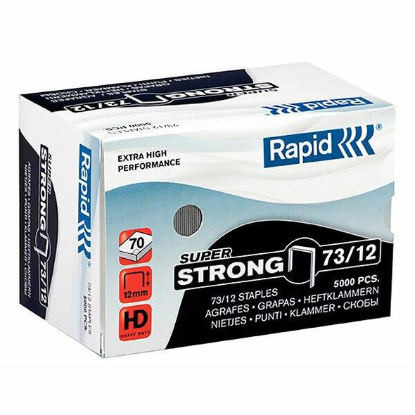 Rapid Staples 73/12mm Box5000 S/Strong 24890800