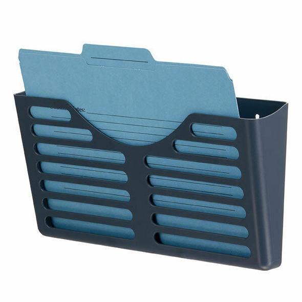 Esselte Verticalmate File Pocket X1 Charcoal 30025