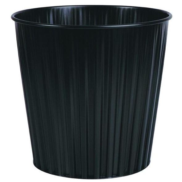 Esselte Elements Bin 15 Litre Fluteline Metal Black 30492