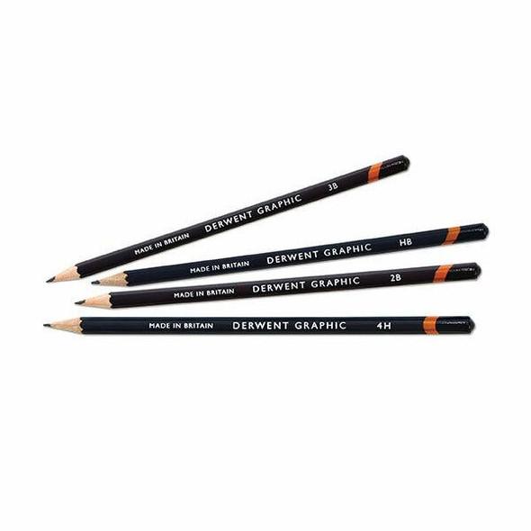 DERWENT Graphic Pencil F X CARTON of 12 34180