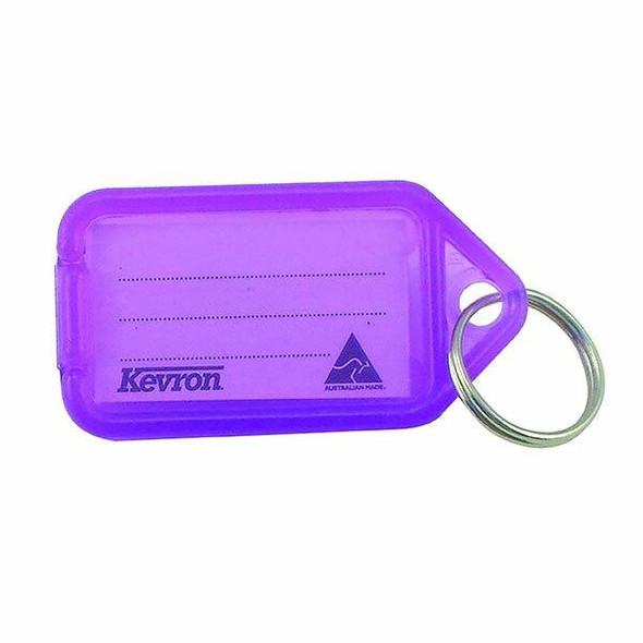 Kevron ID5 Keytags Lilac Bag 50 37728
