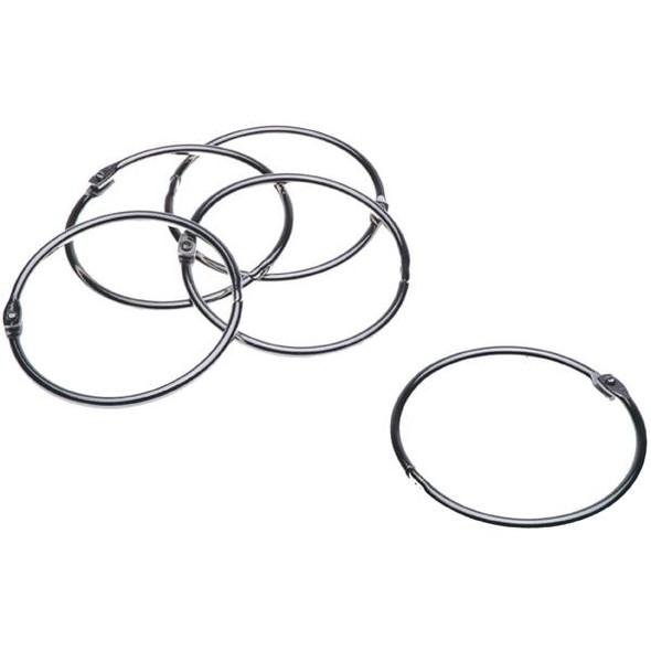 Esselte Hinged Rings No.1 76mm Box10 377331
