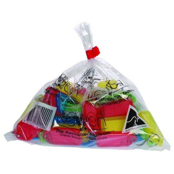 Kevron ID5 Keytags Assorted Bag 50 37742