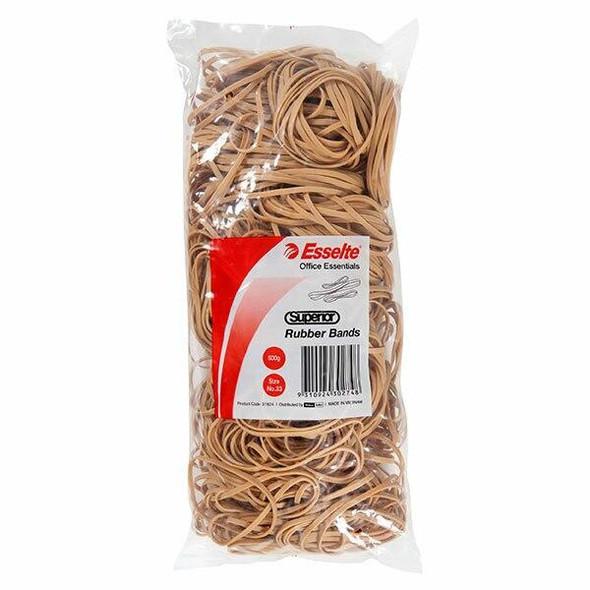 Esselte Superior Rubber Bands Size 33 37824