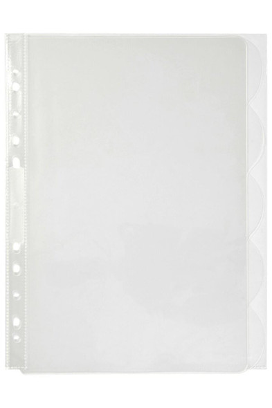 Marbig Professional Indices and Dividers 5 Tab Pp A4 Clear X CARTON of 10 37825