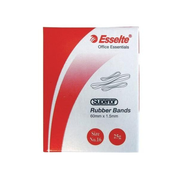Esselte Superior Rubber Bands Size 64 X CARTON of 12 37862
