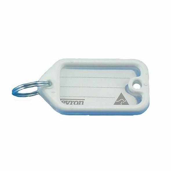 KEVRON ID1 ORIGINAL KEYTAGS WHITE BAG 50 38972