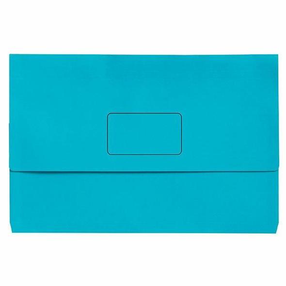 Marbig Slimpick A3 Document Wallet Brights Marine X CARTON of 20 4005501