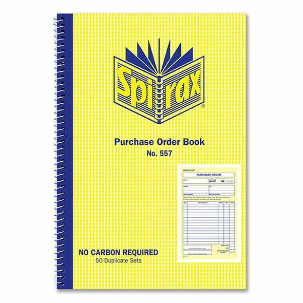 Spirax 557 Order Book 207x144mm X CARTON of 10 40899
