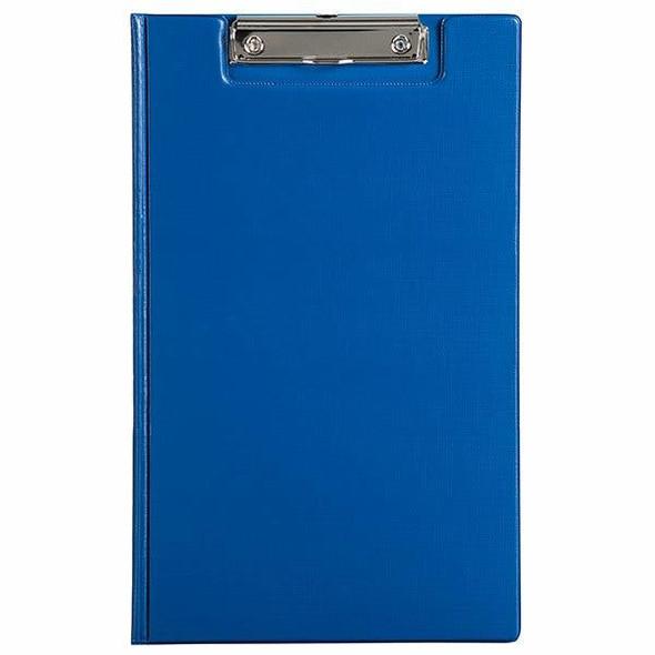 Marbig Clipfolder Pe Foolscap Blue X CARTON of 20 4300501