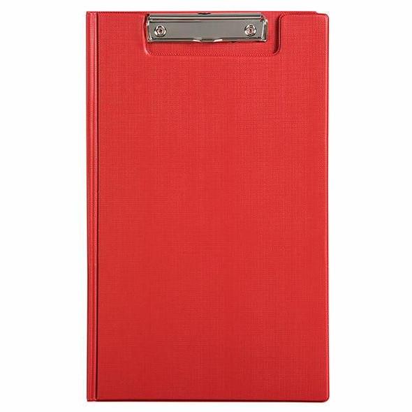 Marbig Clipfolder Pe Foolscap Red X CARTON of 20 4300503
