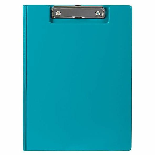 Marbig Clipfolder Pe Blue A4 X CARTON of 6 4300601A
