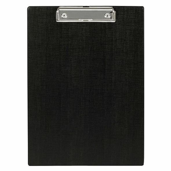 Marbig Clipboard Black A4 Pvc X CARTON of 6 4302002