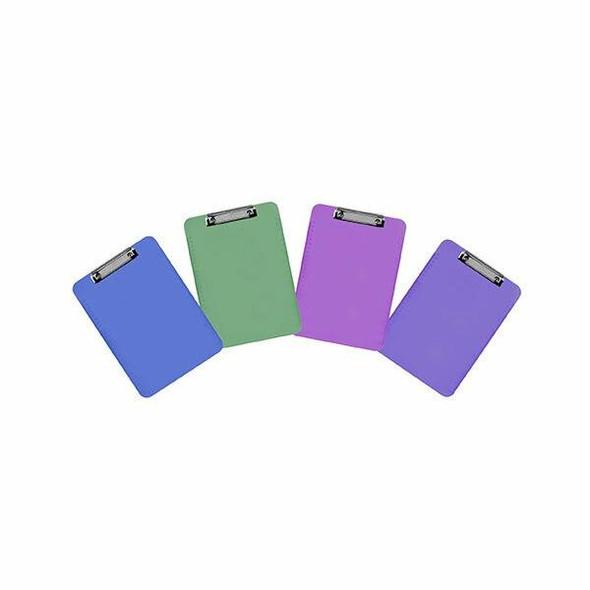 Marbig Clipboard Plastic A4 Assorted X CARTON of 6 43100