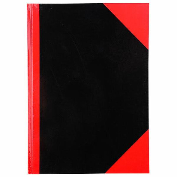 CUMBERLAND Red and Black Notebook Gloss A4 150 LeAnti-Fatigue 43112