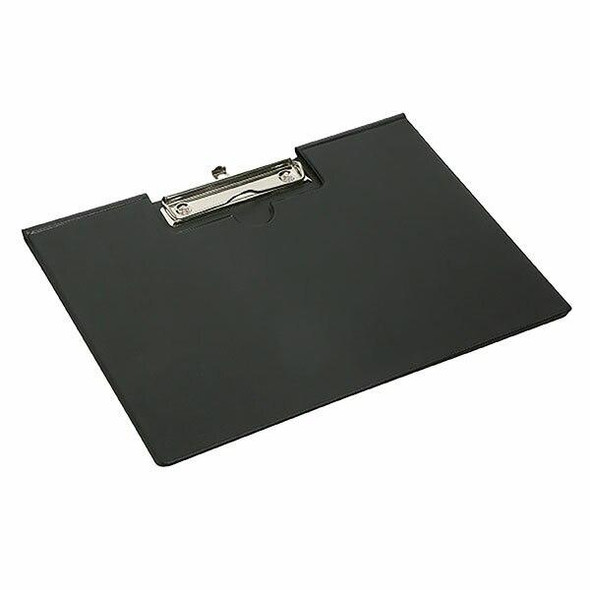 Marbig Clipfolder Pe A4 Lc Black X CARTON of 20 4320002