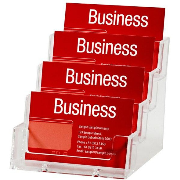 Esselte Business Card Holder Free 4t - 4 Comp 43330