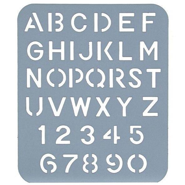 Esselte Lettering Stencils 25mm 44736