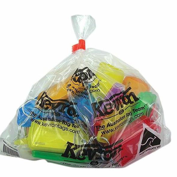 Kevron ID30 Keytags Assorted Bag 25 45387