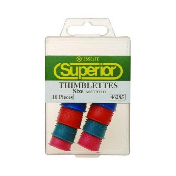 Esselte Superior Thimblettes Assorted Box10 46285