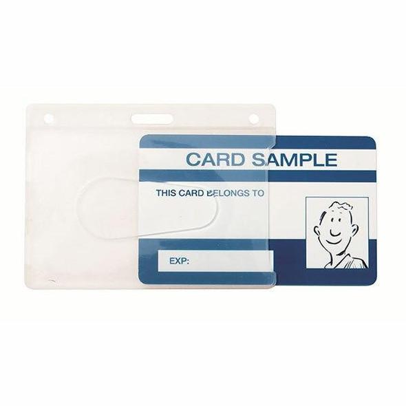 Kevron ID1013 ID Card Holder Clear Bag 25 46772