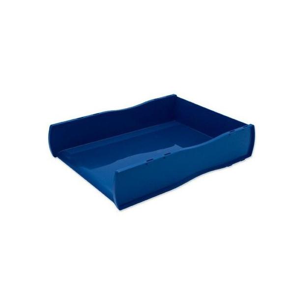 Esselte Nouveau Document Tray Blue Directors 46802