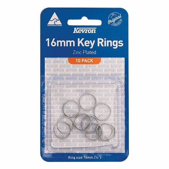 Kevron ID1040 Keyrings 16x1mm Pack10 46992