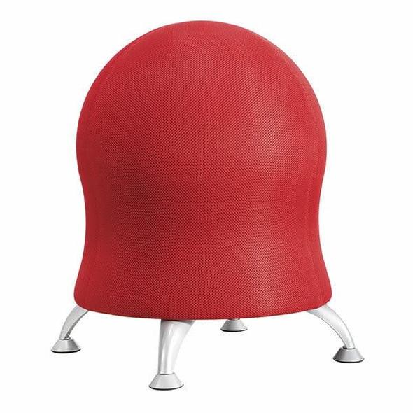 SAFCO Zenergy Ball Chair Crimson Red 4750CI